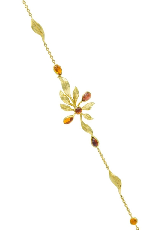 VON KRONBERG Goldener Herbst Armband, 18 Karat nachhaltiges Gelbgold