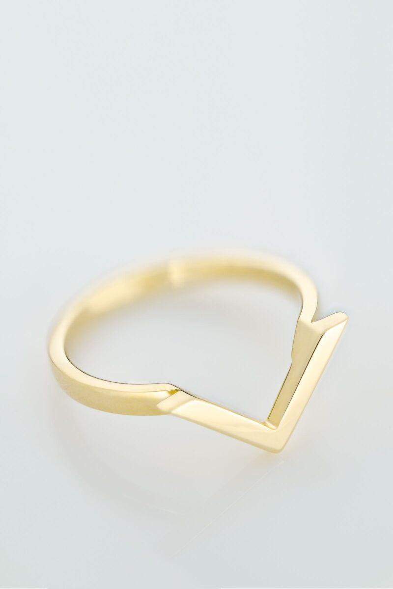VON KRONBERG Victory Ring, 18 Karat nachhaltiges Gold
