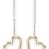 VON KRONBERG PURE LOVE Ohrringe, 18 Karat nachhaltiges Gelbgold, im Labor gezüchtete Diamanten