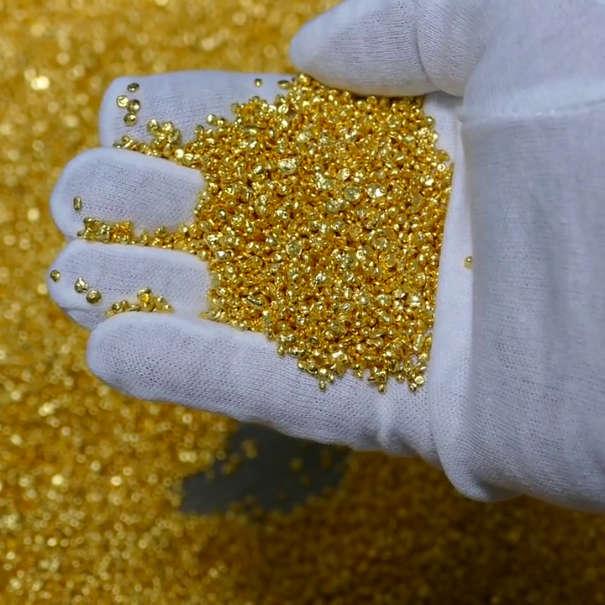 recyceltes nachhaltiges CO2 neutrales Gold